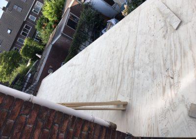 dakbeschot aangebracht